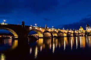 Что Вам непременно надо увидеть в Праге? Карлов мост, НО ночью!