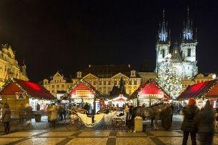 Староместская площадь в Адвент – восхититесь атмосферой исторической Праги
