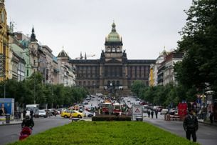 Вацлавская площадь – пульсирующее  сердце Праги