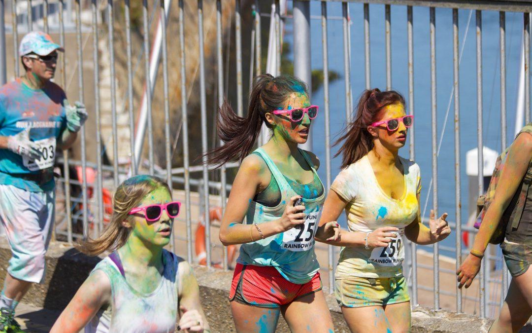 Спортом к хорошему настроению! Именно к этому вы добежите во время веселого марафона «Пестроте не убежишь»